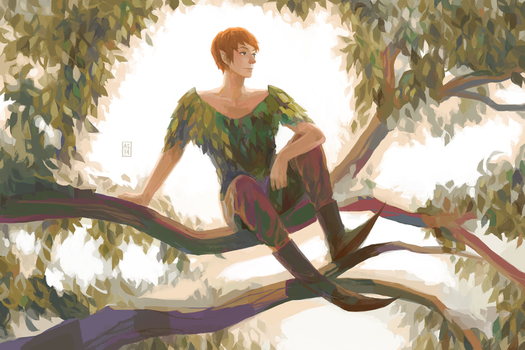 Peter Pan by Purpllamas
