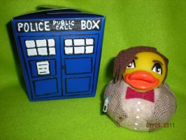 Dr. Who Rubber Duck Smith by Oriana-X-Myst