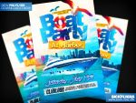 Boat Party Flyer Template PSD by Industrykidz