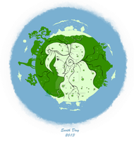 Earth Day 2013 by painted-leaf