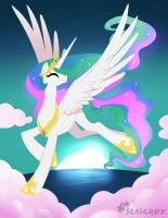 Princess Celestia by SeaGerdy