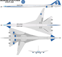 Boeing-2707-200 pan am by bagera3005