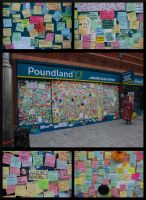 Peckham 'Peace Wall' by PlasticusForkus