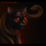 The Cat and the Snake by Feyrah