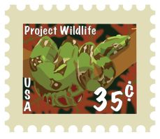 Protect Wildlife Stamp by TonyTheZ