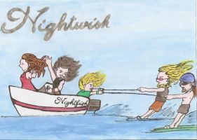 Nightwish Summer 2012 ^^ by AiridAndMewtwo