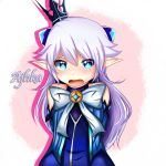 [Elsword] Lu by Ajhka