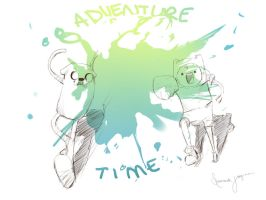 Adventure time!! by s-u-n-n-y-j