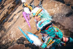 Jinouga huntress. by Shoko-Cosplay
