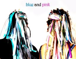 Blue and Pink by littlehippy