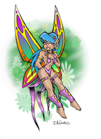 Faerie Girl by DLNorton
