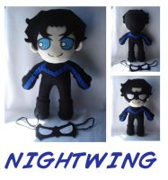 Nightwing by rosey-so-silly