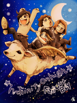 infinity on high [Re-painted ver] by nezumi-zumi