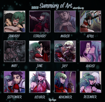 Art summary 2013 by rayn44