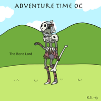 AT OC Bone Lord by The-Clockwork-Crow