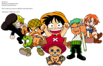 One Piece Group by Fenja20
