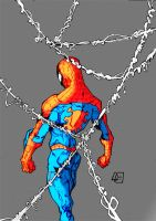 Spiderman Mad     Colors by CartoonWatch