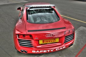 Audi R8 safety car HDR by el-ginge