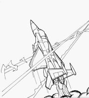 TF Lost Seasons preview Starscream by PiusInk