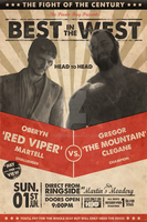 The Besteros in Westeros Fight Poster by TheZeis