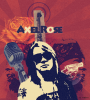Axel Rose Poster by iceboxic