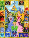 Link And The Ocarnia of Time by fadetag