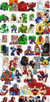 Marvel 70th Annivesary by stompboxxx