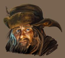 Radagast study by Witch-Haze