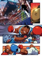 Dudley vs. Balrog Page 1 by edwinhuang