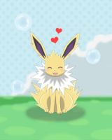 Jolteon Amie by Winick-Lim