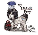 My Emo Pony by pucksgryn