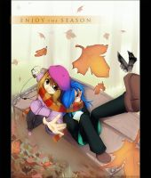 Enjoy the Season - Autumn by Exarrdian
