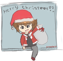 Merry Christmas GX style by PastaEater27