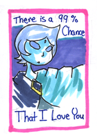 Valentine Card: Fi by HappehCakes