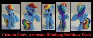 Show-Accurate Rainbow Dash by Gryphyn-Bloodheart