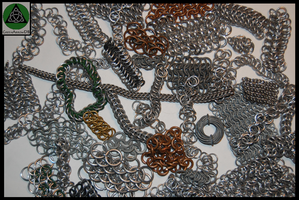 Assorted Chainmaille by GreenArrowDB