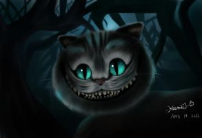 Cheshire Cat by keemkemms18