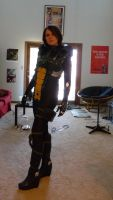 Mass Effect 3: Nemesis cosplay WIP by Adnarimification