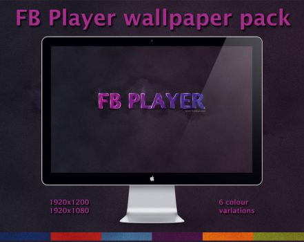 FB Player wallpaper pack by Webelinx