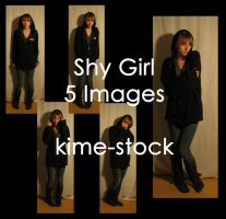 Shy Girl by kime-stock