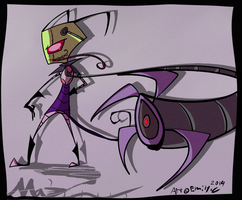 Invader Zim -Project 10 Maz- by Freakly-Show