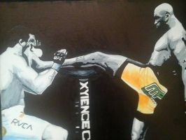 Anderson vs Belfort by Draw4fun2