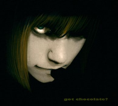 Mello: Got Chocolate.. by andrahilde
