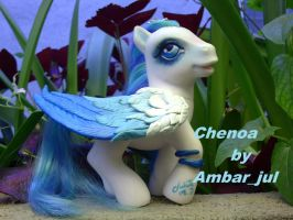 My little pony custom Chenoa by AmbarJulieta