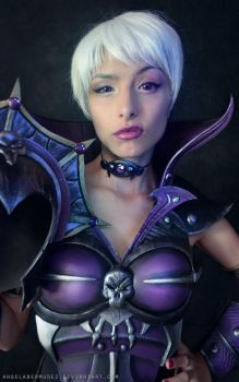 Evil Lyn Portrait by AngelaBermudez