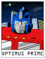 AlphaBots Week XV: O is for Optimus Prime by SamWolk