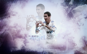Angel Di Maria Wallpaper by Y2Joker