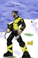 Old Wolverine Doodle by GriftersArt