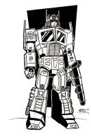 Optimus Prime by chip14