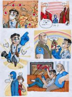 Tf2 minidrawings coloured! by Papercutzz